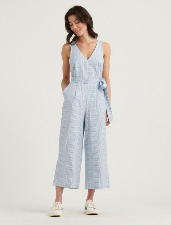 BLAKE GEO STRIPE JUMPSUIT, BLUE MULTI, productTileDesktop