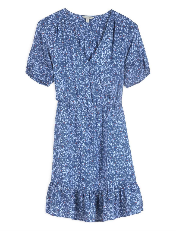 POLKA DOT MILA WRAP DRESS, image 1
