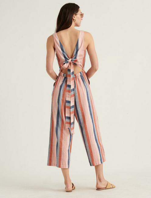 STRIPED BLAKE JUMPSUIT,