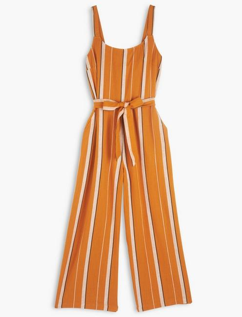 CATALINA STRIPED JUMPSUIT,
