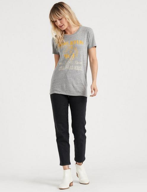 JANIS IN CONCERT TEE, HEATHER GREY