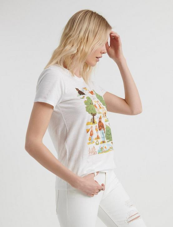 SMOKEY THE BEAR TEE, LUCKY WHITE, productTileDesktop