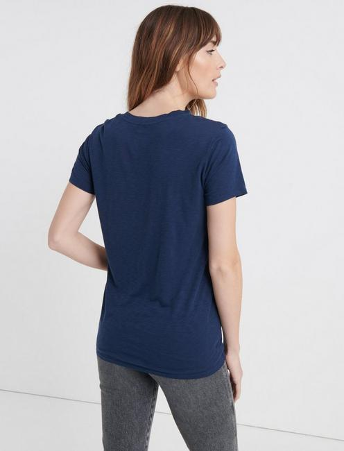 JOURNEY BELIEVING TEE, AMERICAN NAVY