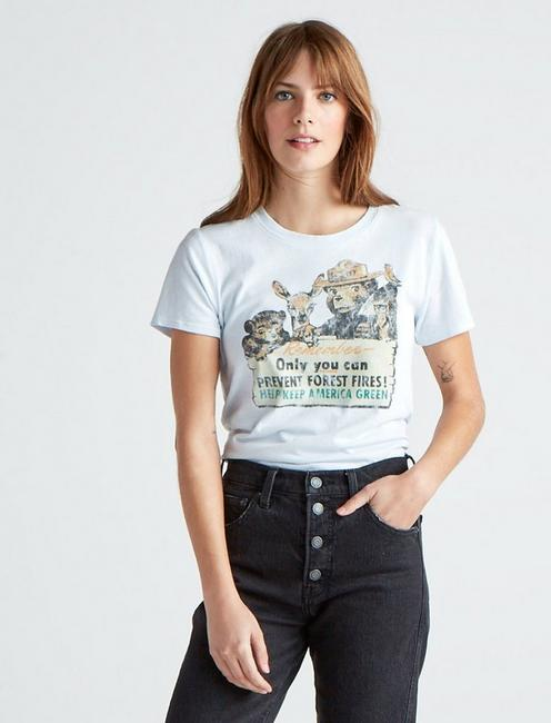 SMOKEY THE BEAR TEE, PLEIN AIR