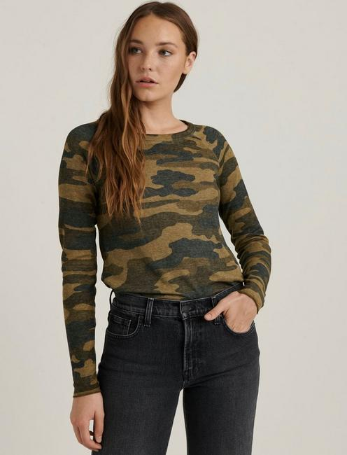 CAMO BURN OUT THERMAL, GREEN MULTI