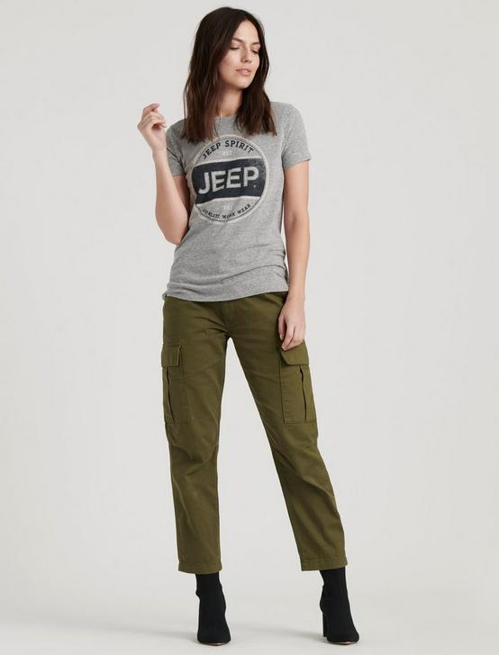 JEEP TEE, HEATHER GREY, productTileDesktop