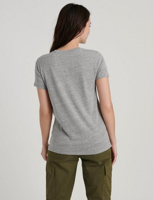 JEEP TEE, HEATHER GREY
