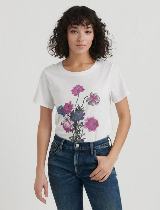 BOUQUET TEE, LUCKY WHITE, productTileDesktop