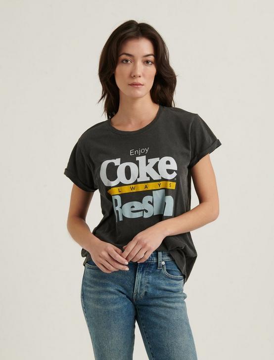 COKE ALWAYS FRESH TEE, 001 LUCKY BLACK, productTileDesktop