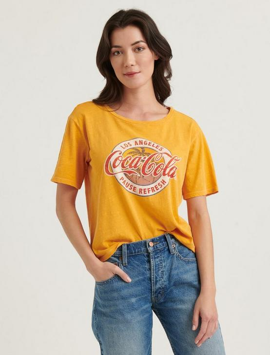 LOS ANGELES COLA TEE, ARTISAN GOLD, productTileDesktop