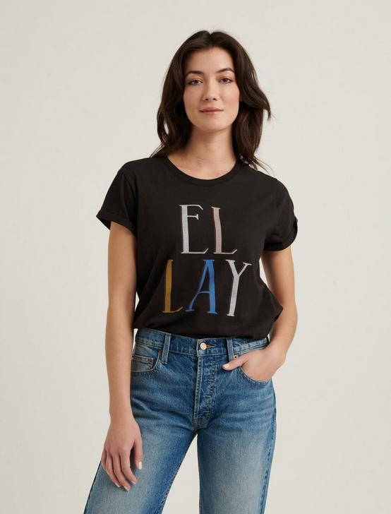 EL LAY CREW TEE, BLACK MOUNTAIN, productTileDesktop