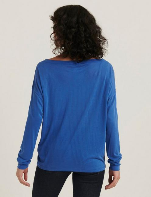 SAND WASH LONG SLEEVE TEE, BLUE