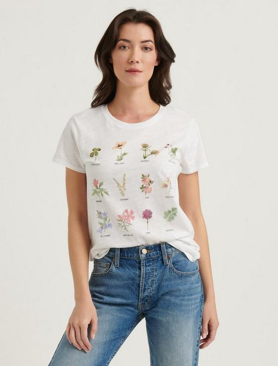 ROWS OF FLOWERS TEE, LUCKY WHITE, productTileDesktop
