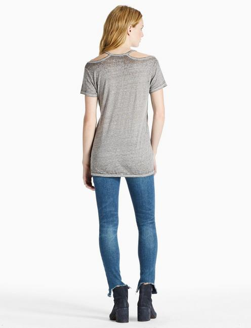 JOURNEY TEE, HEATHER GREY