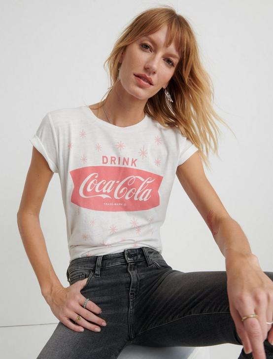 DRINK COCA COLA TEE, LUCKY WHITE, productTileDesktop