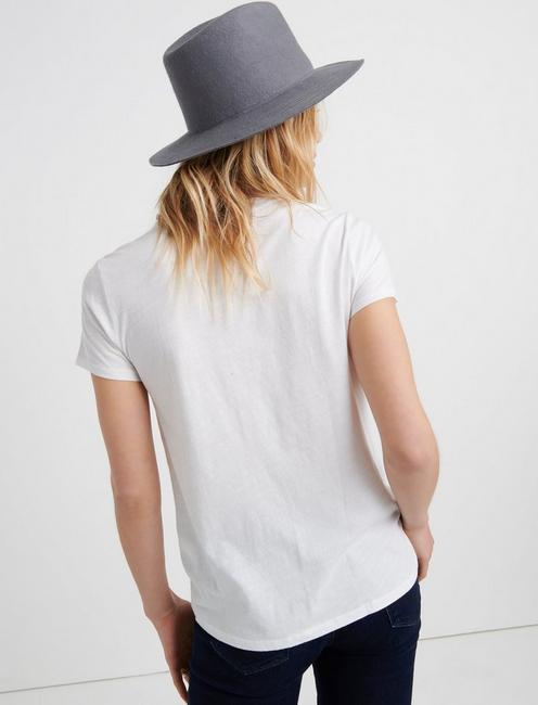 Short Sleeve LUCKY CLOVER TEE, LUCKY WHITE