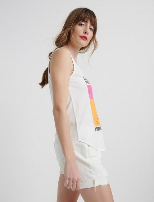 ENDLESS SUMMER TANK, LUCKY WHITE