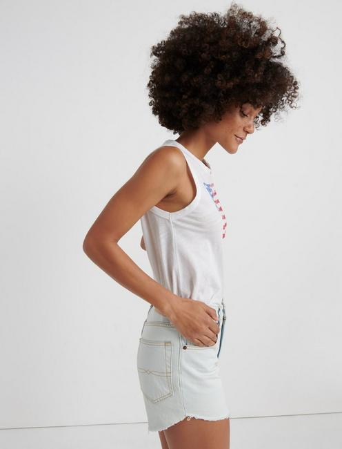 BANDANA FLAG TANK, LUCKY WHITE