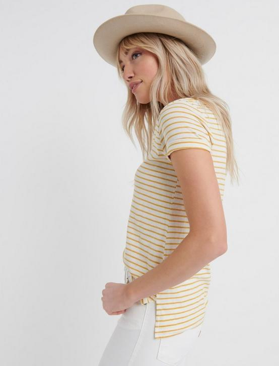 Venice V Neck, TINSEL STRIPE, productTileDesktop