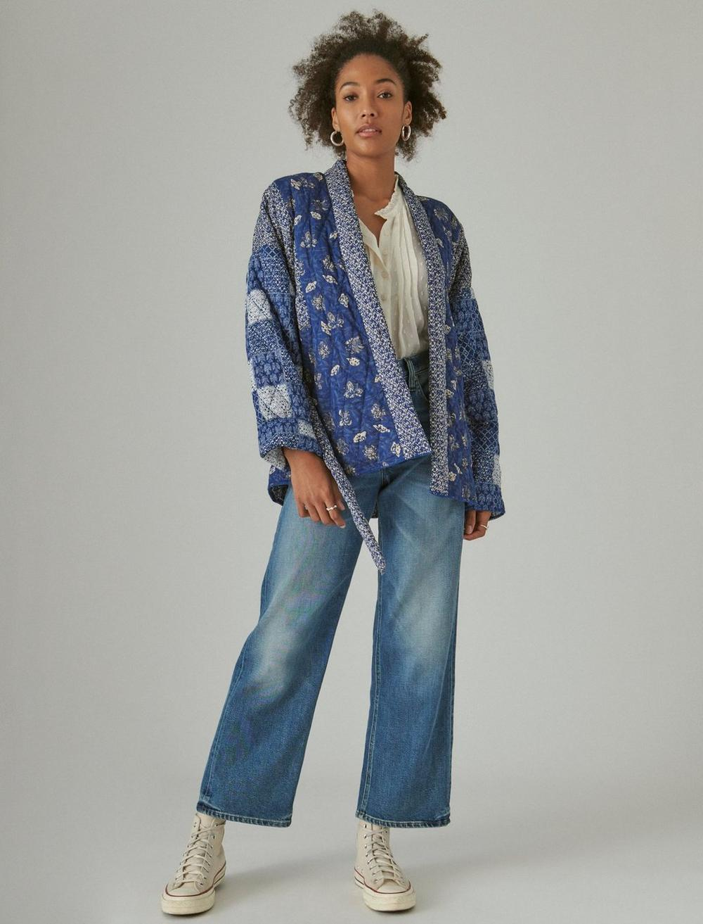 PATCHWORK QUILTED KIMONO, image 2