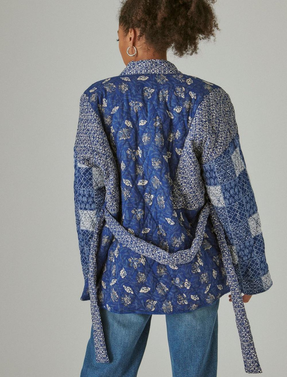 PATCHWORK QUILTED KIMONO, image 4