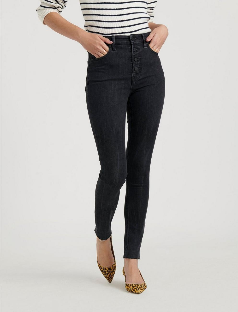 HIGH RISE BRIDGETTE SKINNY JEAN, WISHBONE CT