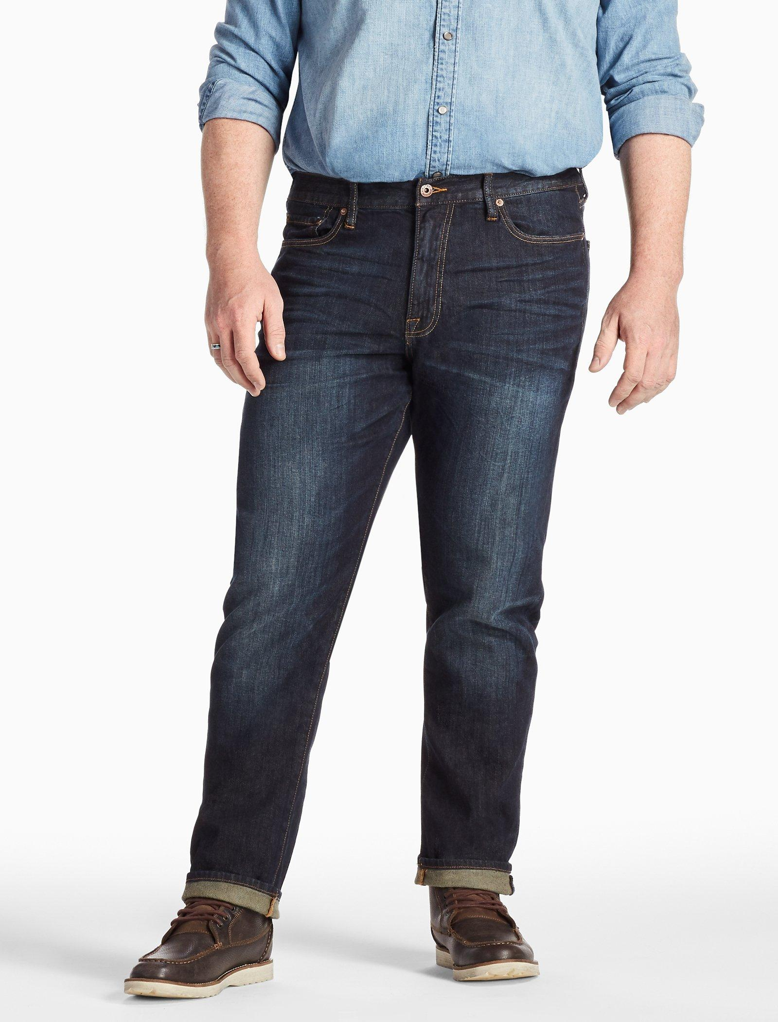 Lucky Brand Mens Big /& Tall 410 Athletic Jean in Barite Jeans