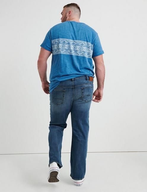 181 RELAXED STRAIGHT COOLMAX BIG & TALL JEAN, HARRISON