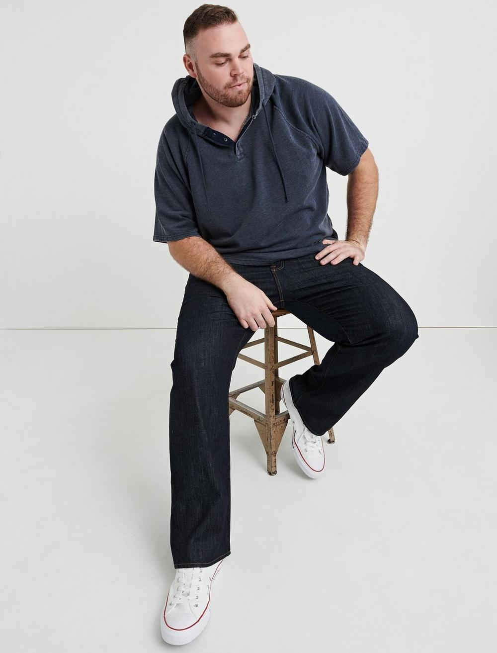 181 RELAXED STRAIGHT BIG & TALL JEAN, image 1