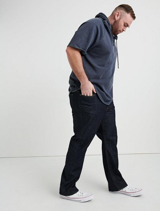 181 RELAXED STRAIGHT BIG & TALL JEAN, DARK RINSE, productTileDesktop