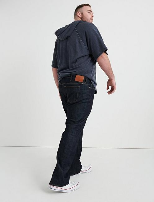 181 RELAXED STRAIGHT BIG & TALL JEAN, DARK RINSE