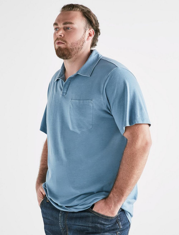 Big and Tall Burnout Polo, image 1