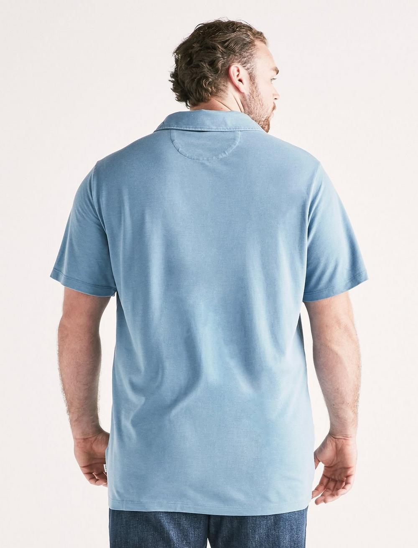 Big and Tall Burnout Polo, image 3