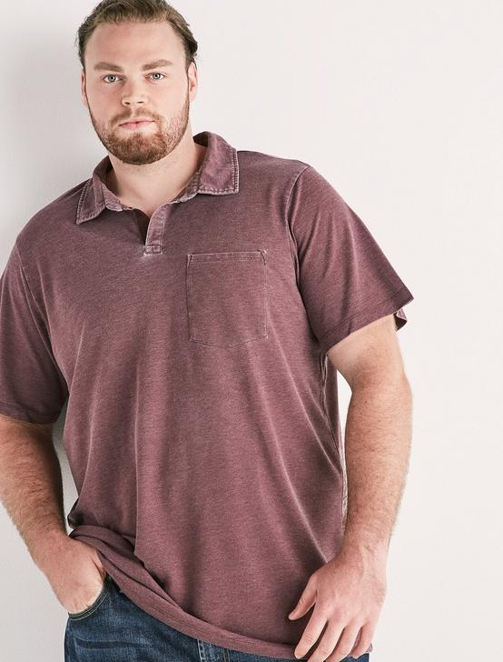 Big and Tall Burnout Polo, WINE TASTING, productTileDesktop