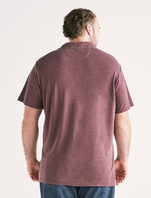 Big and Tall Burnout Polo, WINE TASTING