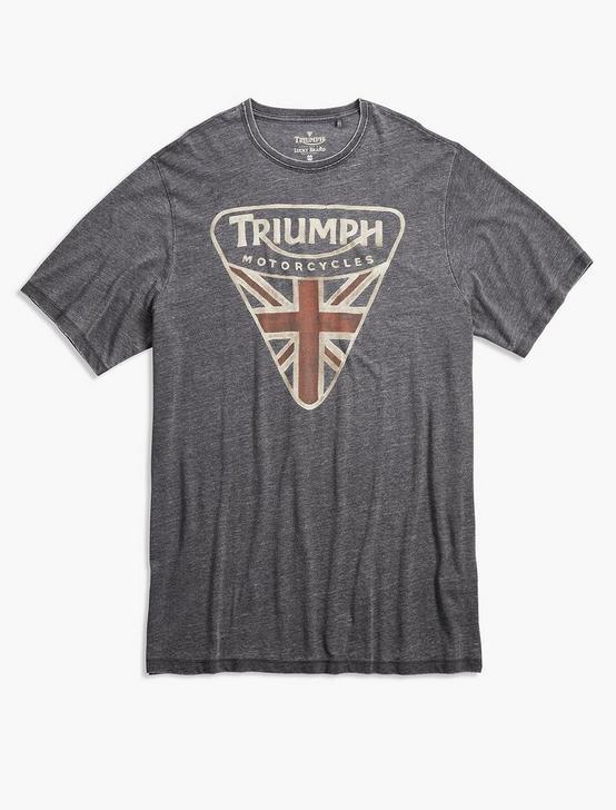 Big and Tall Triumph Badge, JET BLACK, productTileDesktop
