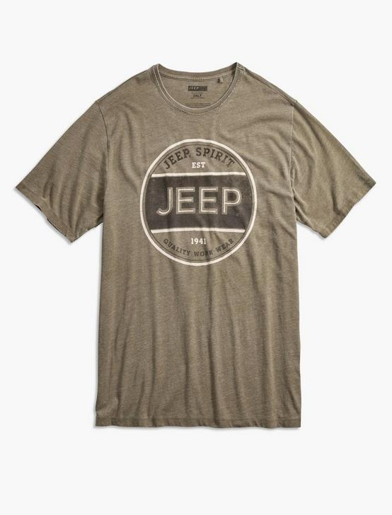 Big and Tall  Jeep Spirit Workwear Tee, DARK OLIVE, productTileDesktop