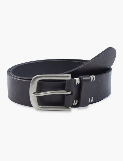 BASIC STITCH DETAIL BELT,