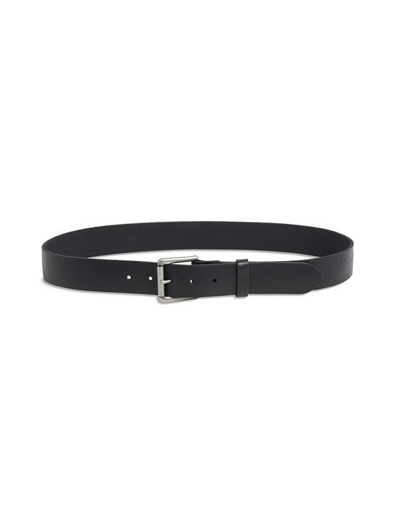 HIGHLAND LEATHER BELT, BLACK, productTileDesktop