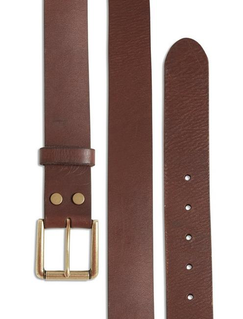 HIGHLAND LEATHER BELT, BROWN
