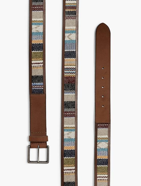 SERAPE LEATHER BELT, MULTI, productTileDesktop