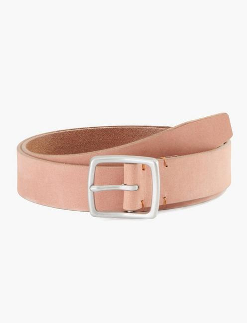 NATURAL TAN LEATHER BELT, TAN