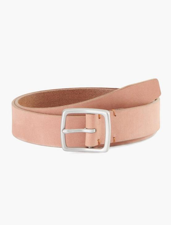 NATURAL TAN LEATHER BELT, TAN, productTileDesktop