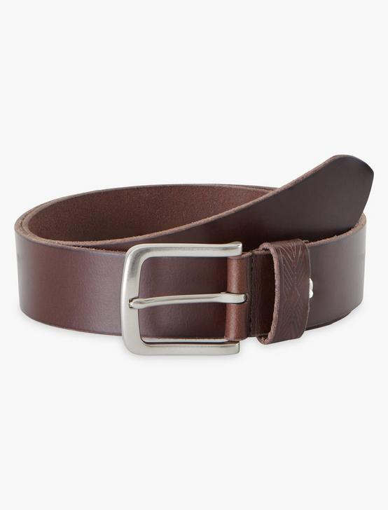 NOVELTY LOOP BELT, BROWN, productTileDesktop