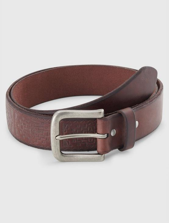 EMBOSSED DETAIL BELT