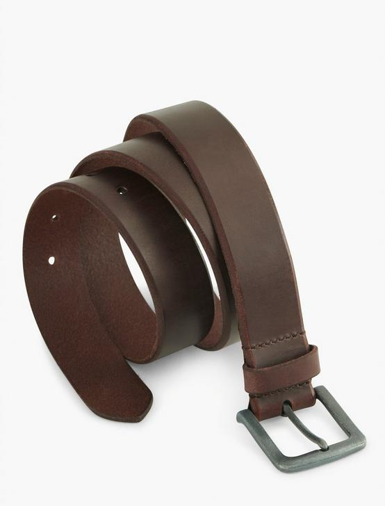 BRIDLE LEATHER BELT, OX BLOOD, productTileDesktop