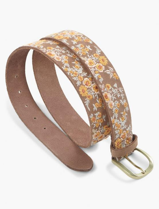 FLORAL BUNCHES BELT, MULTI, productTileDesktop