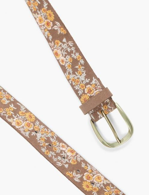 FLORAL BUNCHES BELT, MULTI