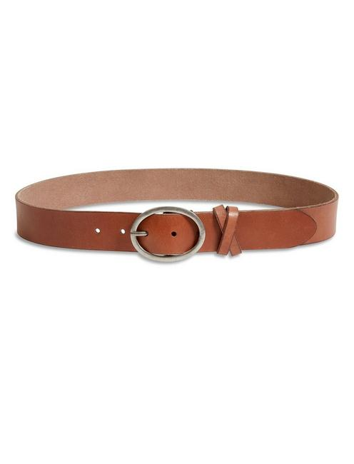 THE FIELD BELT, #2056 SADDLE BROWN