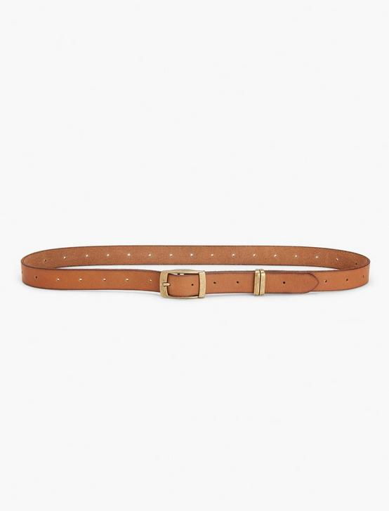 SKINNY BELT, BROWN, productTileDesktop